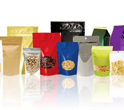 Snack Food Display Pouches