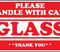 glass handle with care