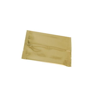 metallized gold flat pouch